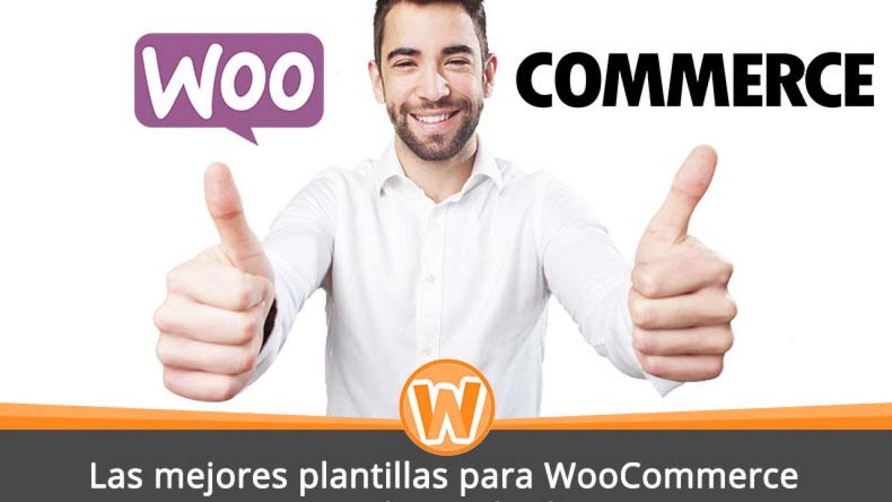 Las mejores plantillas para WooCommerce con Wordpress