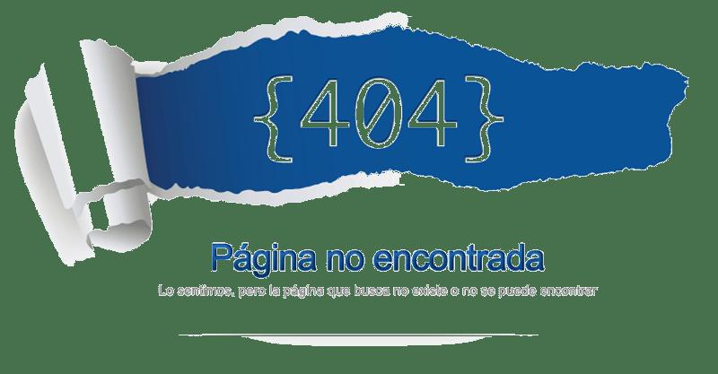Error 404 imagen no encontrada